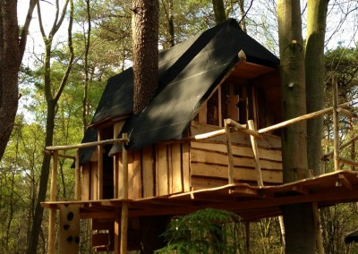 bouwtekening boomhut