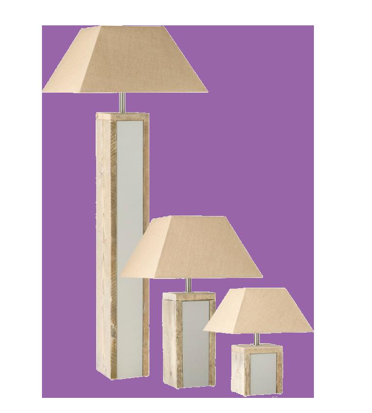steigerhout lamp