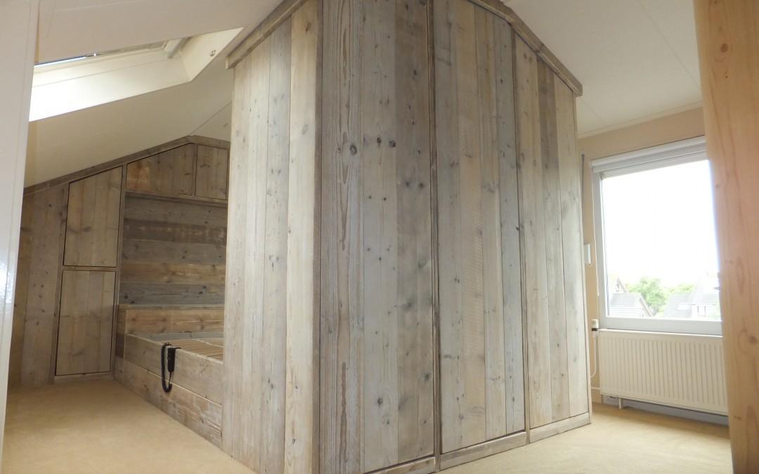 Steigerhout wand maken? Klik hier voor een bouwtekening!