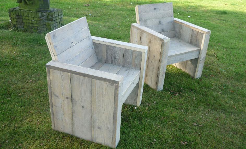 Bouwtekening stoel van steigerhout downloaden? Klik hier!