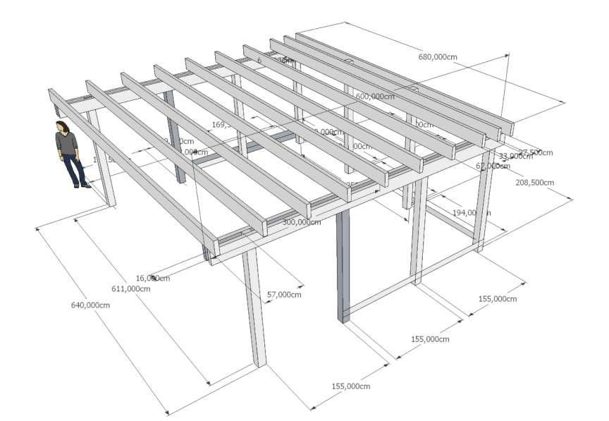 bouwtekening carport